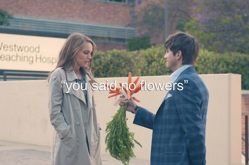 Only person who can pull off bringing carrots for a date lol. I would laugh so much if a guy did that to me.