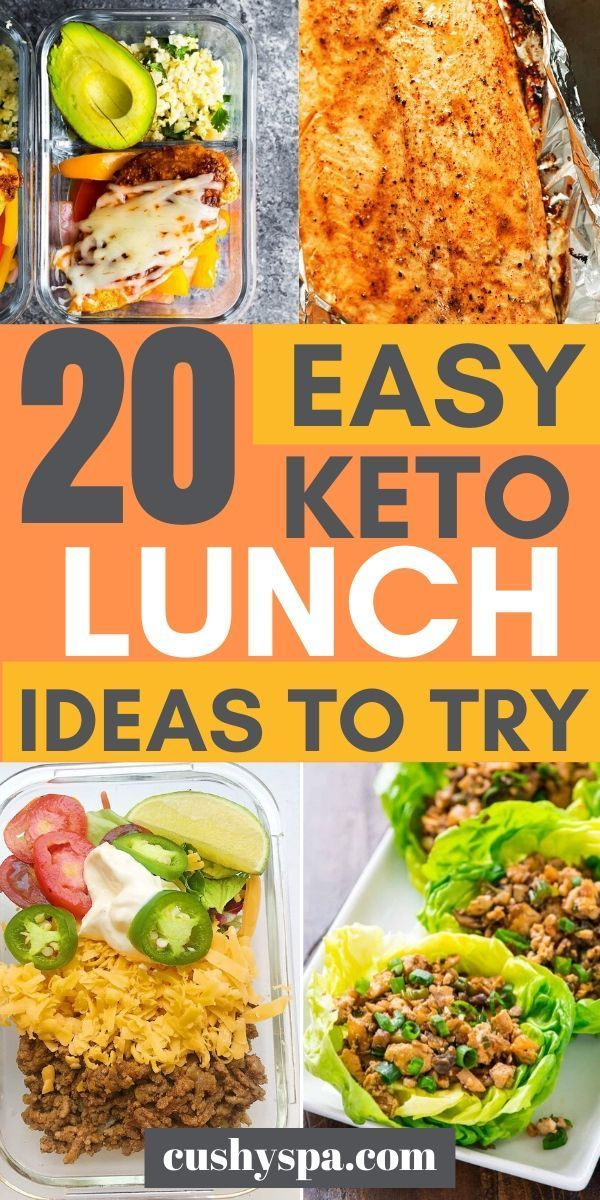 Photo of 20 einfache Ideen zum Keto-Mittagessen