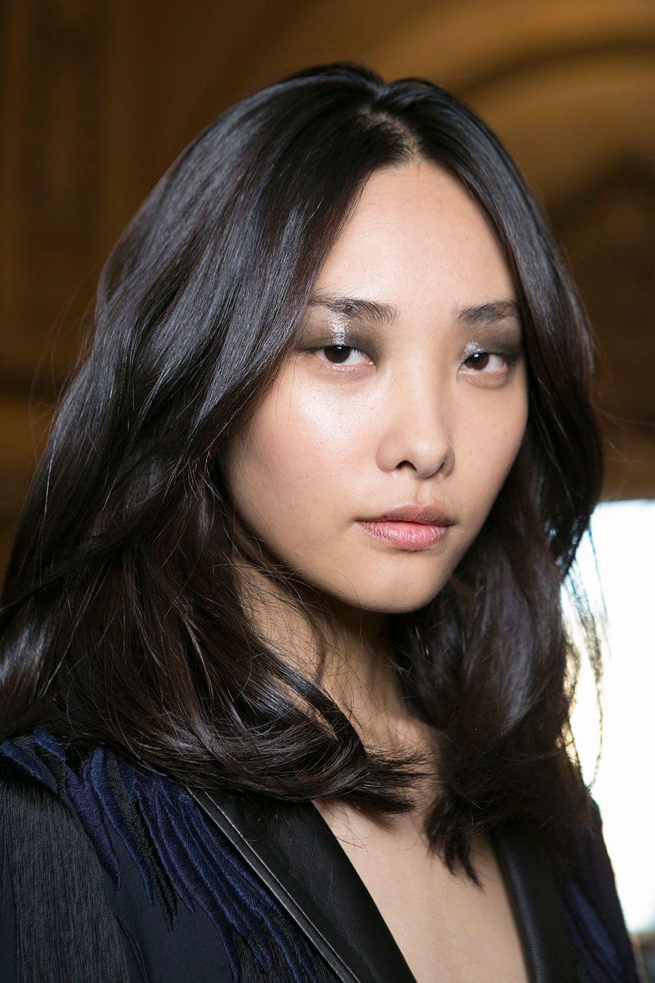 Barbara bui spring makeup hair style and beauty photos