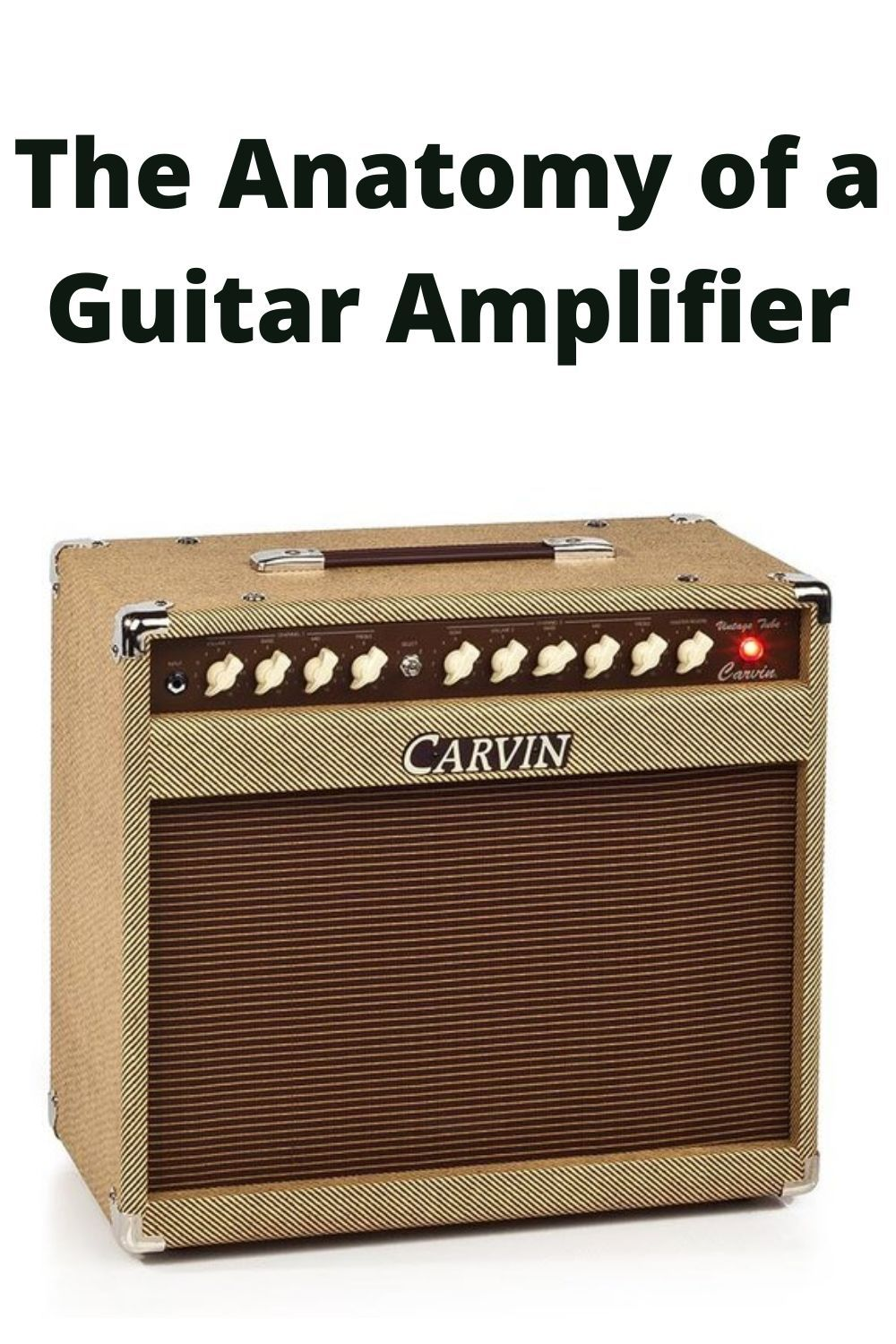 The Anatomy Of A Guitar Amplifier In 2020 Guitar Amp Acoustic Guitar Amp Acoustic Guitar