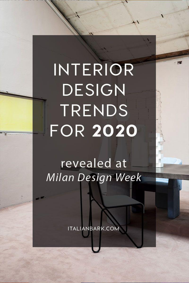 Interior Trends 2020 Trending Decor Interior Trend Latest