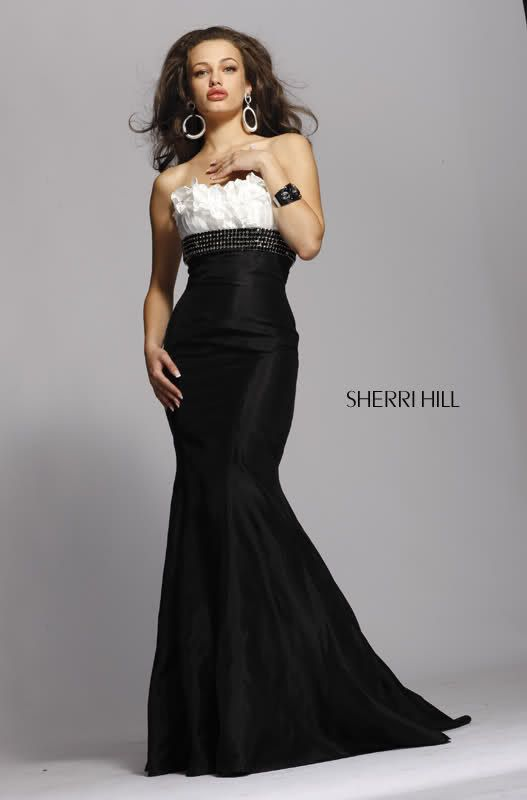 Black And White evening dress | Prom Dress, Evening Dress ...