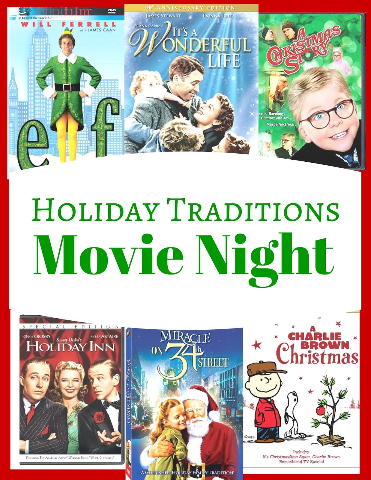 The Prudent Pantry: Holiday Movie Night Tradition {with updated ...