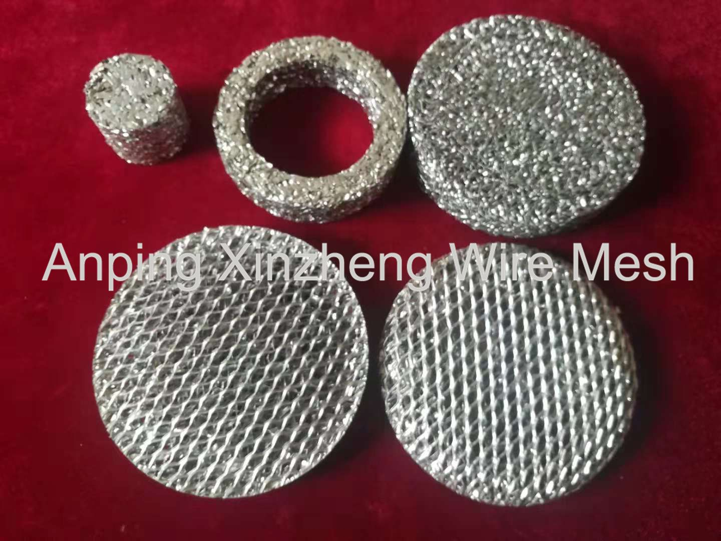 The main purpose of the aluminum foil net is to filter the