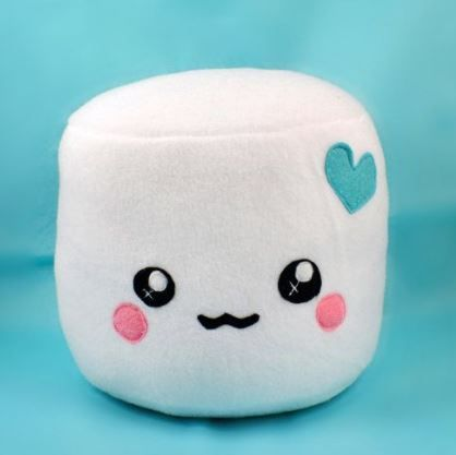 Kawaii Felt Marshmallow For Pretend Food Play Diy Inspiration