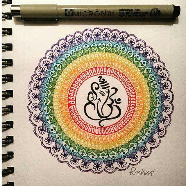 Ganesh Mandalas...........