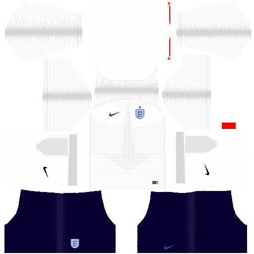 Download And Import World Cup 2018 England Kits For Dream League Soccer Dlskits Dreamleaguesoccerkits Dreamleaguesoccer Englandkits England