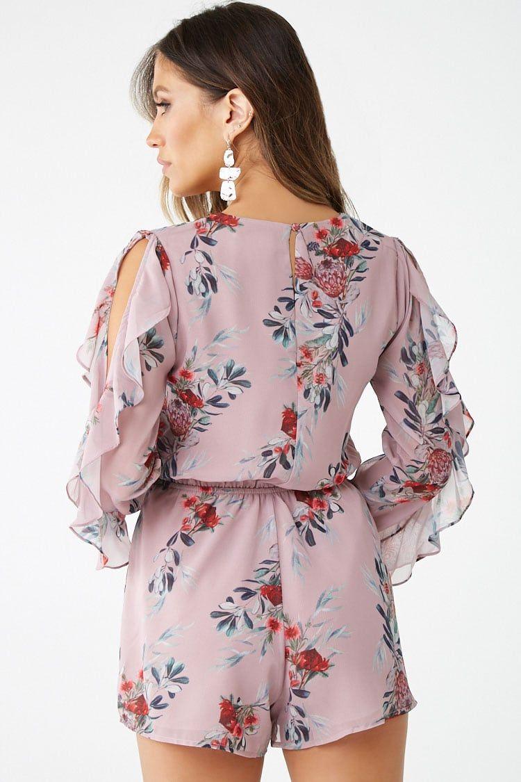 Floral print romper rompers fashion floral prints