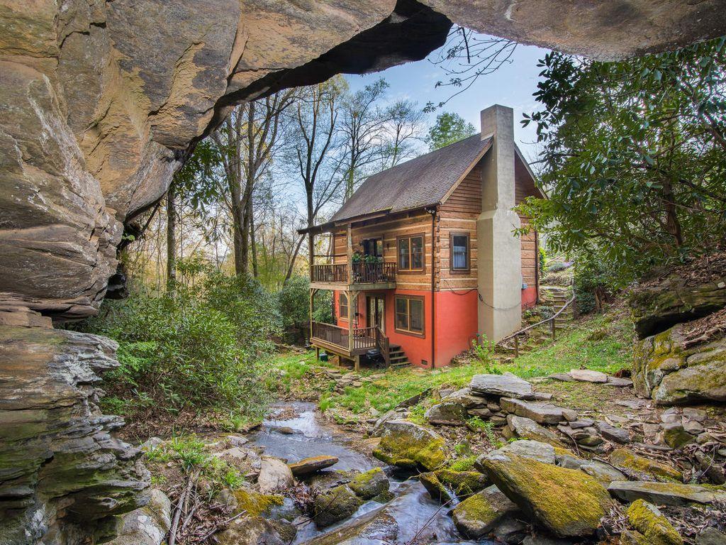 Waterfall Cabin Laurel falls, Cabin, Cabin vacation