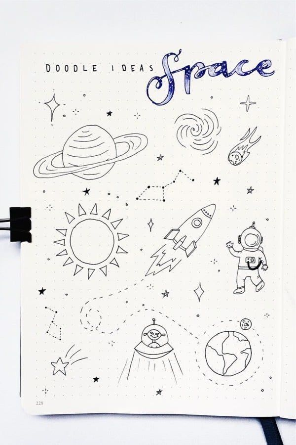 Bullet Journal Doodle Inspiration For Bujo Addicts Vol.1 - Crazy Laura