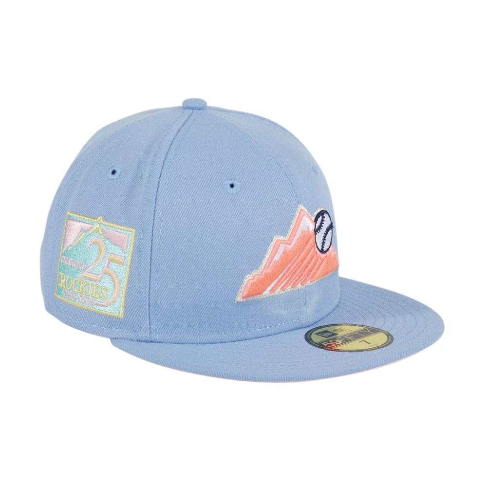 Pre Order Exclusive New Era 59fifty Colorado Rockies Mountain 25th Ann Hat Club New Era 59fifty New Era Uv Hats