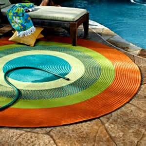 Outdoor Rugs For Patios #1   Round Outdoor Patio Rugs