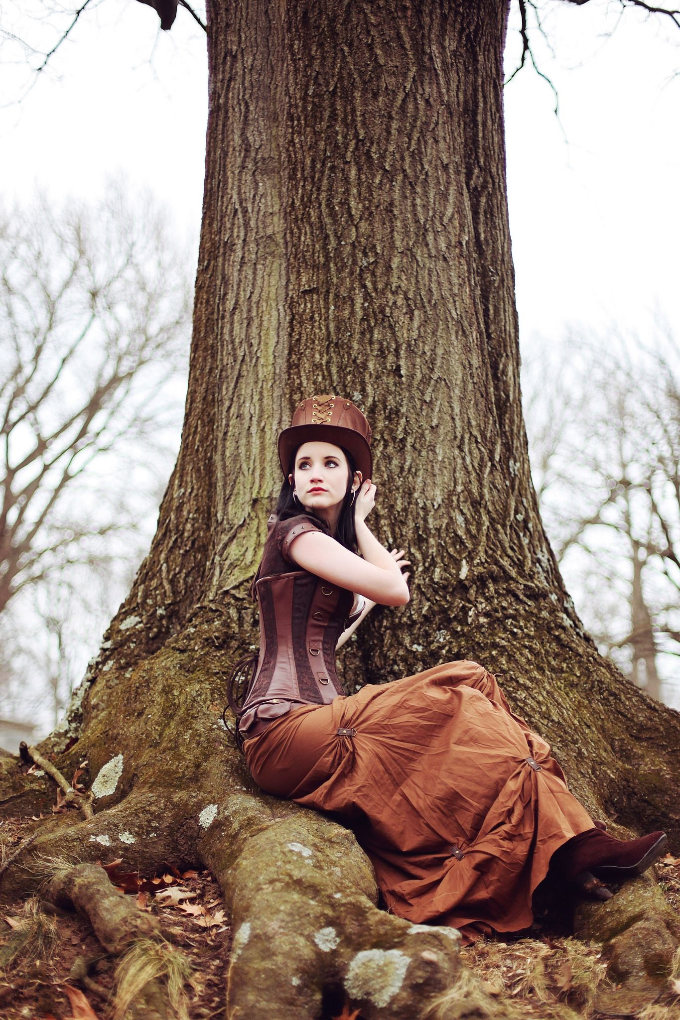 https://flic.kr/p/mkcNvz | Steampunk | I thought several of her photos started looking pretty magical, and then we found this tree with ginormous roots. Amen for that.  ENJOY!