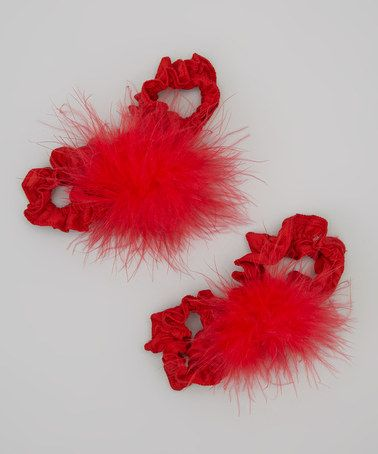 Love this Red Hugs & Kisses Barefoot Sandal on #zulily! #zulilyfinds