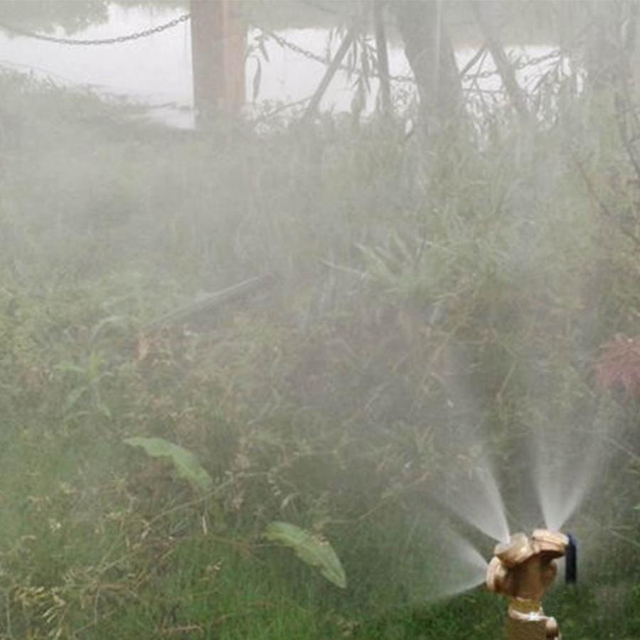 Adjustable Misting Nozzle Gardening Watering Brass Sprinkler Sprayer Connector