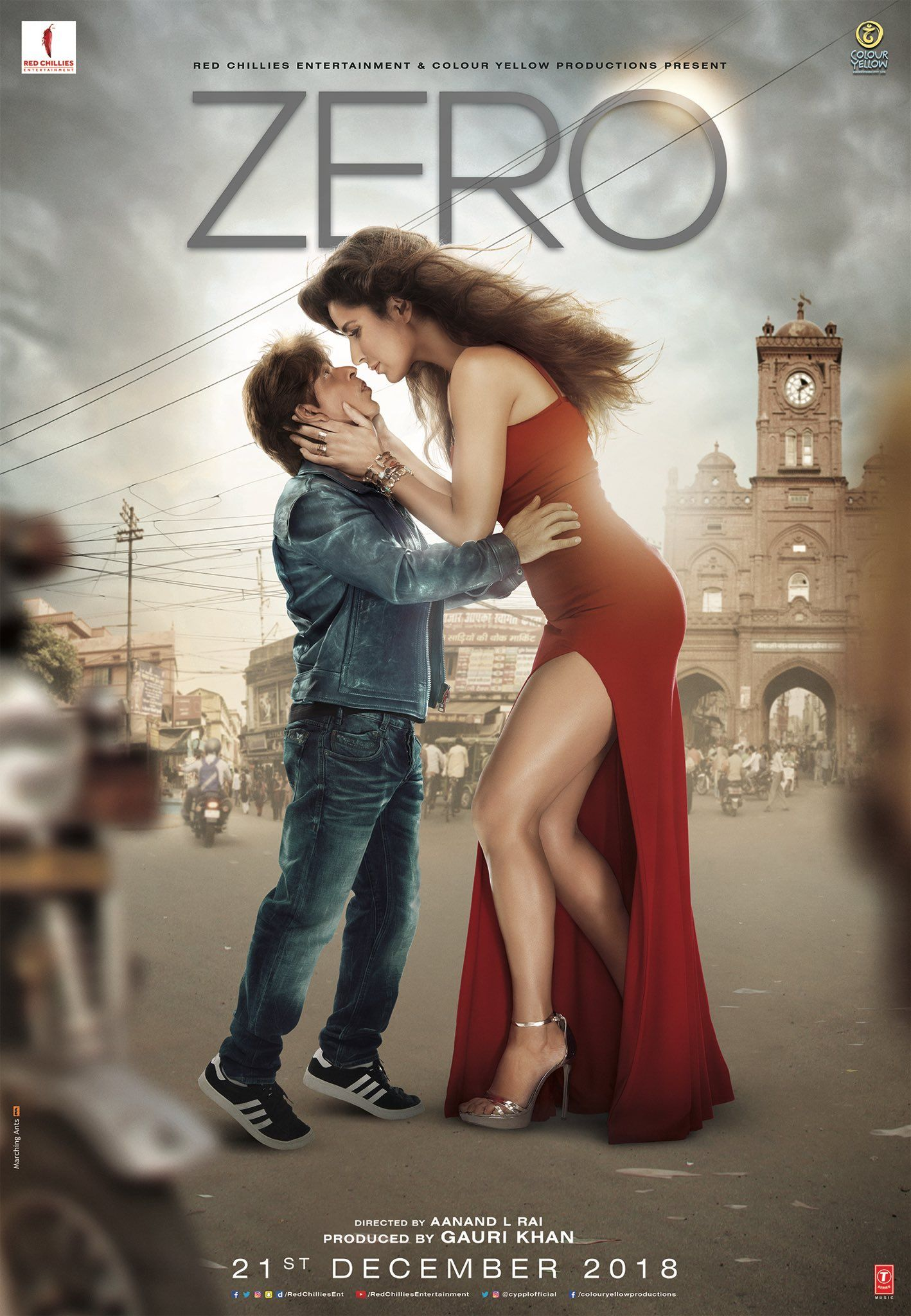 Zero Zeroposter Shahrukhkhan Katrinakaif Anushkasharma First Look New Posters Aanandl Full Movies Online Free Full Movies Online Streaming Movies Online