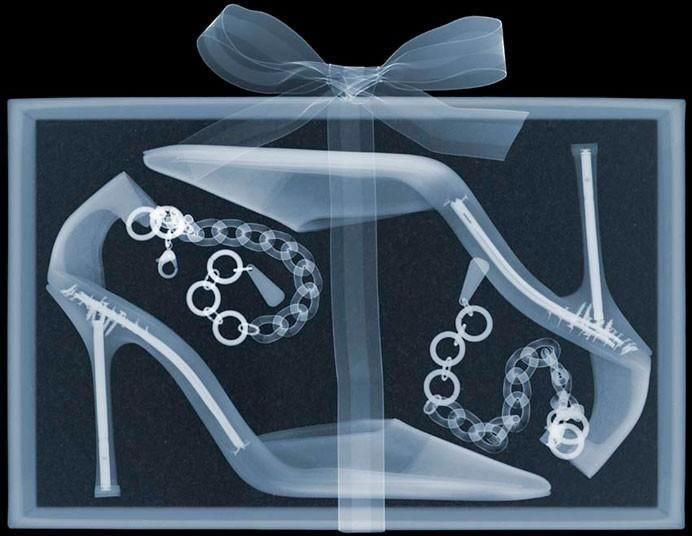 Women's Shoes X ray Nick Veasey #dental #poker