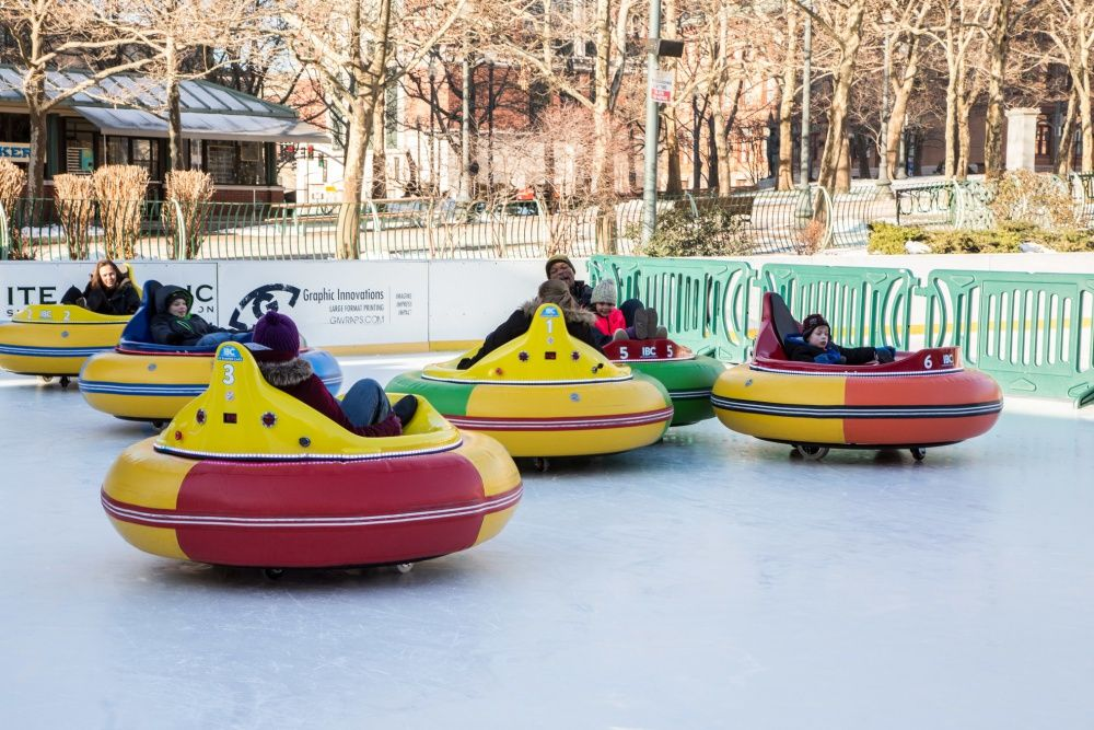 Ice Bumper Cars Return to Providence, Rhode Island in 2020