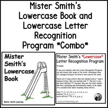 Lowercase Letter Recognition Program and Lowercase Book