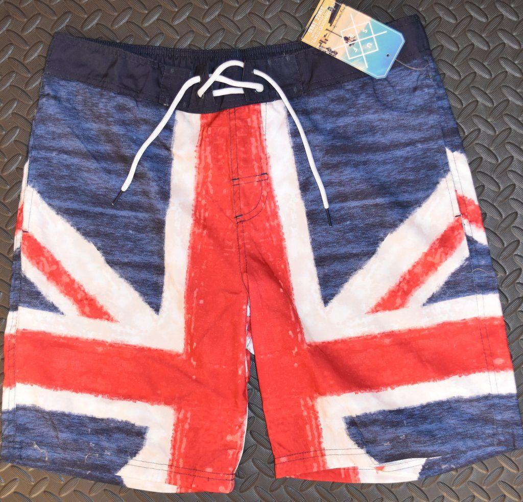 a88ff7604405b Mens British Flag Union Jack Swim Shorts PRIMARK new S - XXL | Union ...