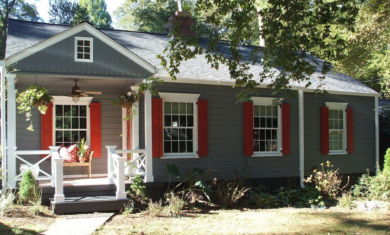 Cabin Exterior Paint Schemes Color
