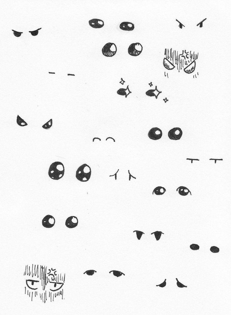 Eyes Chibi : chibi, Chibi, Babyunicornart, DeviantART, Eyes,, Drawing,, Drawings