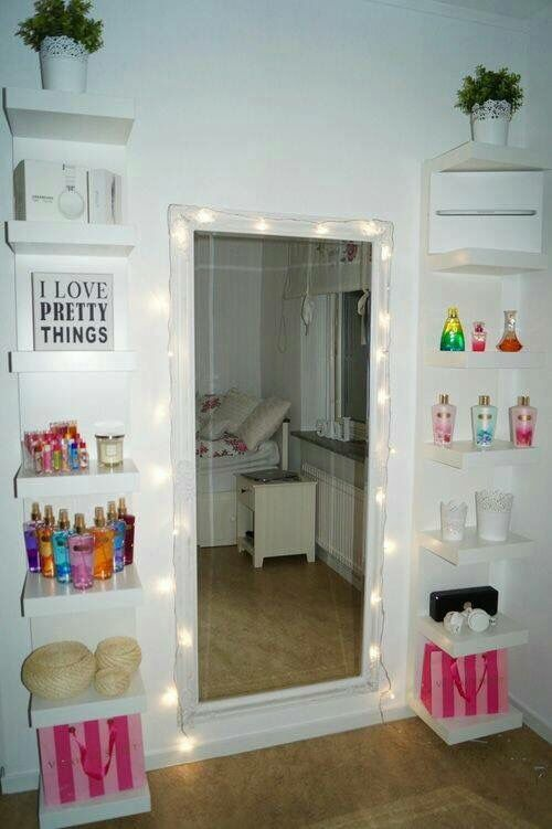 Diy Vanity Mirror With Lights For Bathroom And Makeup Station For