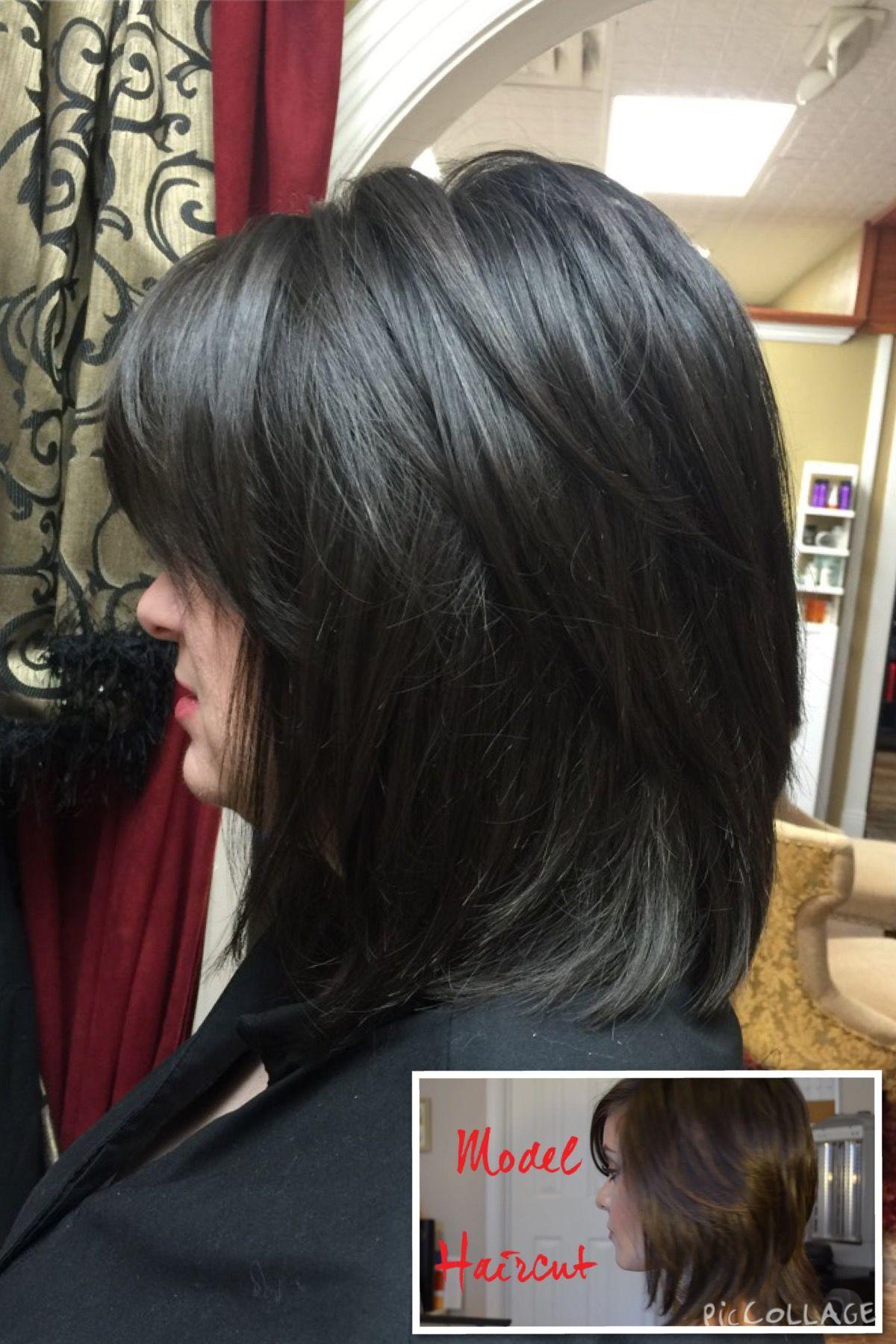 Hair style trends longhair shorthair mediumhair cut color