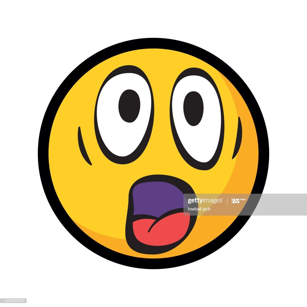 Surprised Or Shocked Emoticon Emoji In 2020 Emoticon Emoji Iphone Background