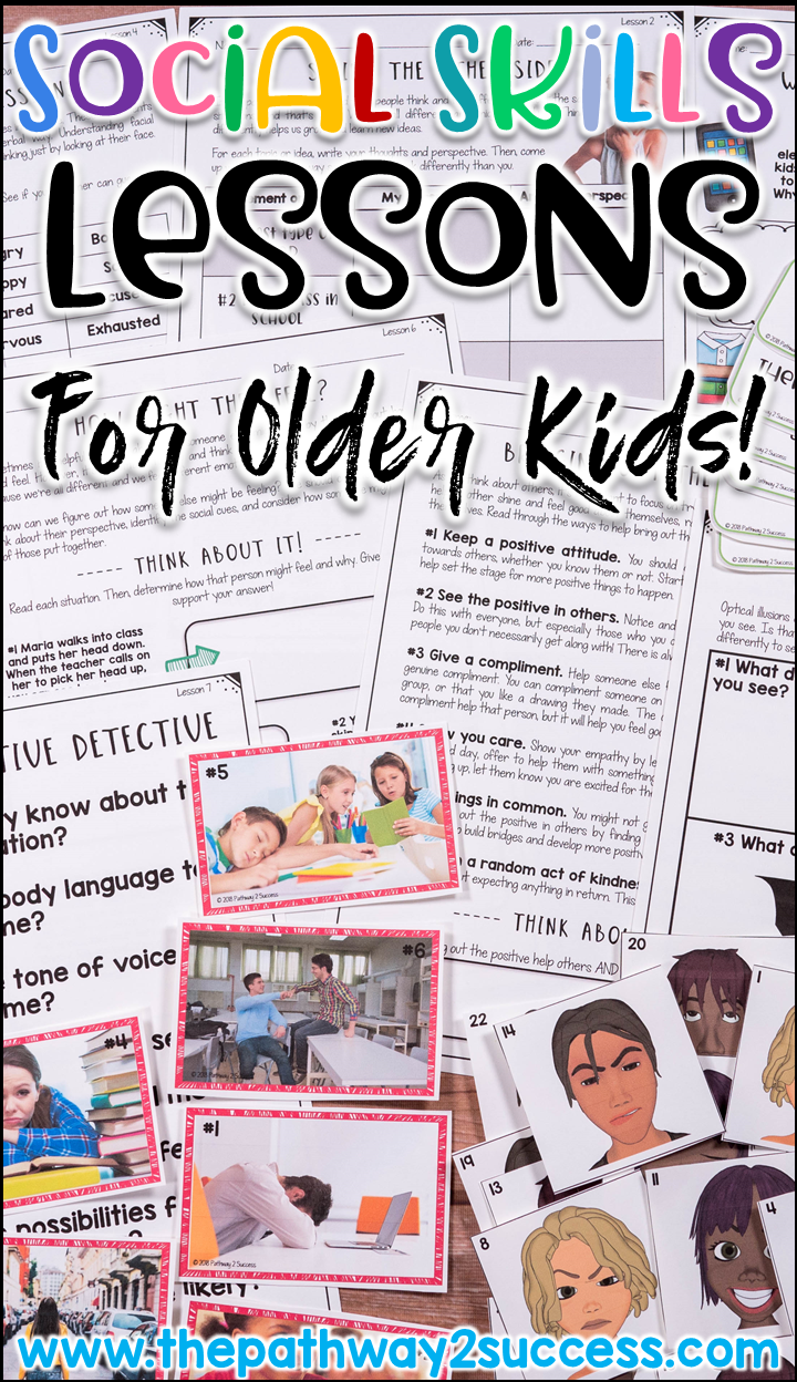 Social Skills Lessons BUNDLE for Older Kids | Special Education