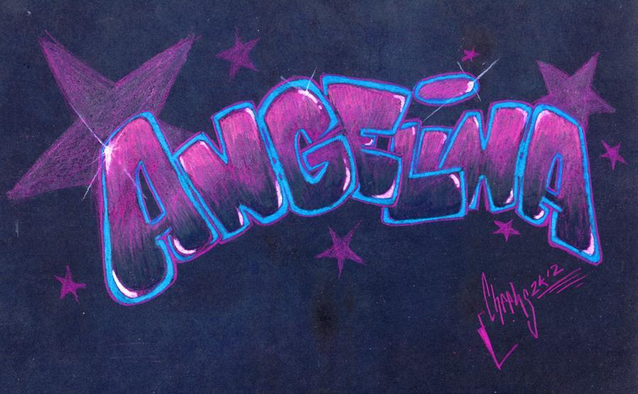 такой картинки граффити с именем ангелина стоит начинать