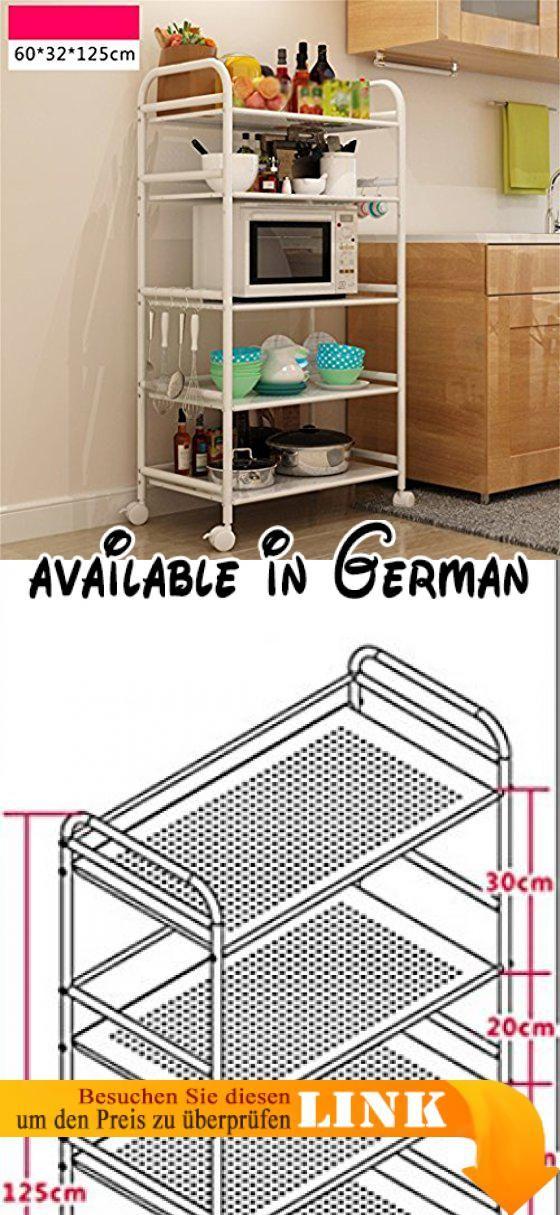 B078WQZTZV : L&Y Kitchen furniture Küche Regal-Landung ...