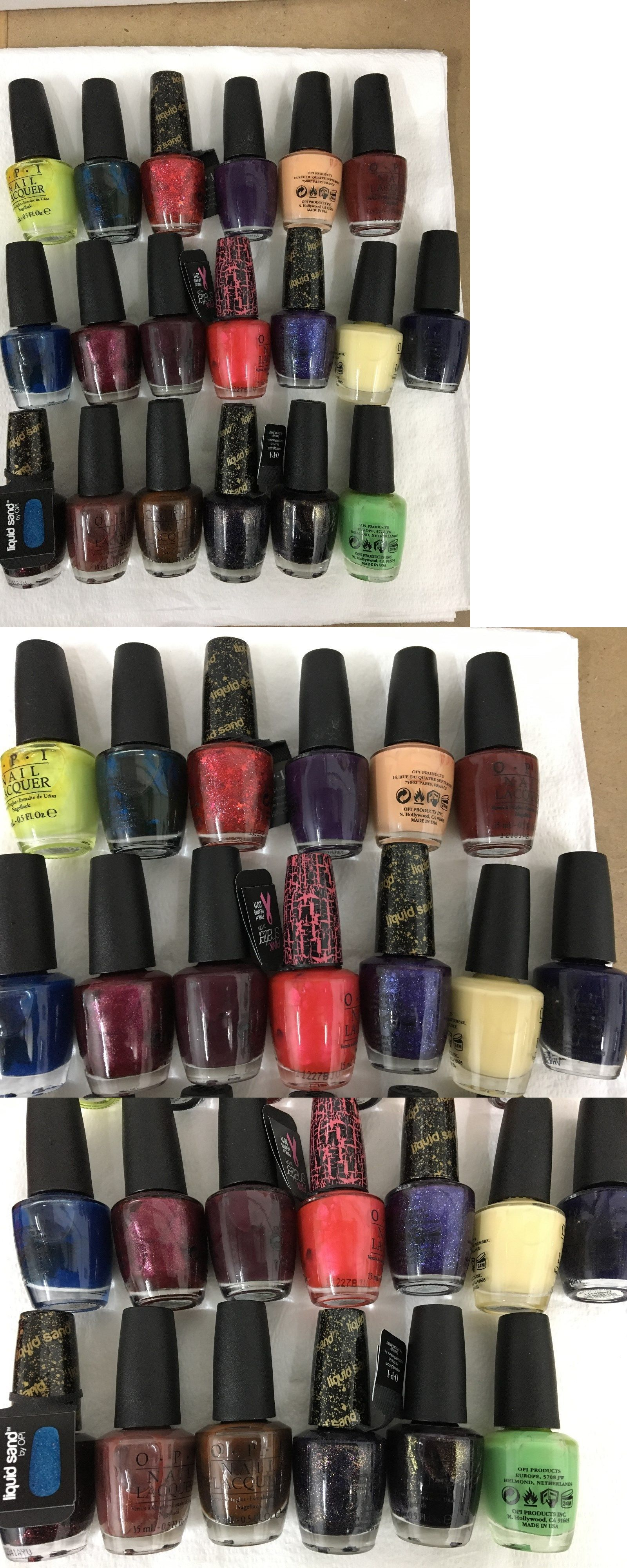 Nail Polish: Opi Discontinued Nail Lacquer Polish- Lot Of 19 -> BUY ...