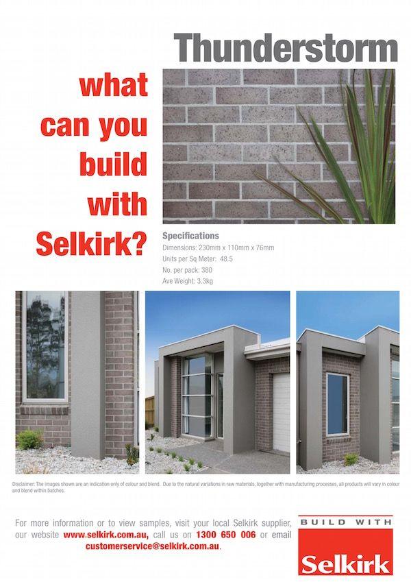 Extruded Bricks  Thunderstorm Inspiring  - fresh blueprint consulting ballarat