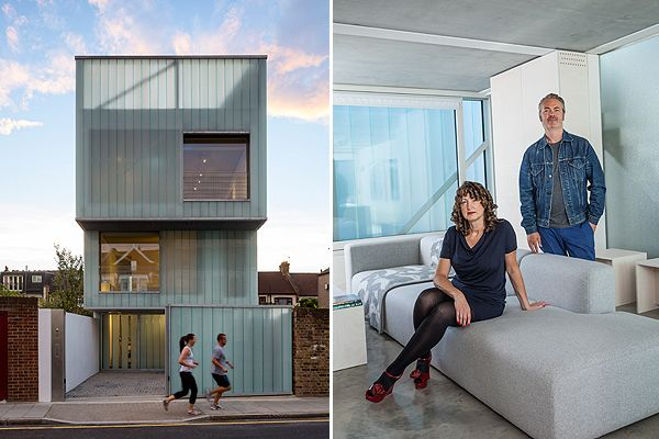 Brixton cube house ... worth £1.5million