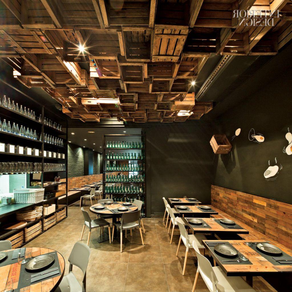 30 Restaurant Interior Design Color Schemes: Uncategorized , Breathtaking Small Restaurant Furniture Ideas With Simple Yet Elegant