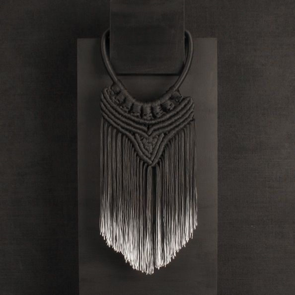 """""""moody"""" magnificent neck pieces by eleanor amoroso. her work has been described as a 'commemoration of the forgotten art of craftsmanship"""