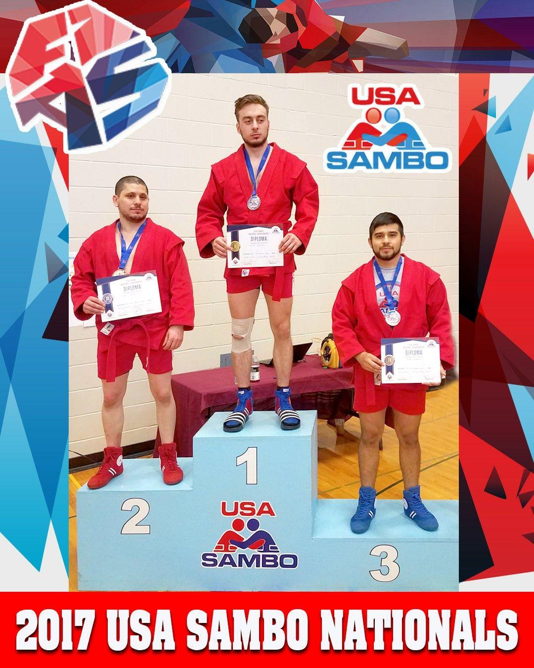 2017 USA SAMBO NATIONALS Julian Sanchez mens 68kg Bronze