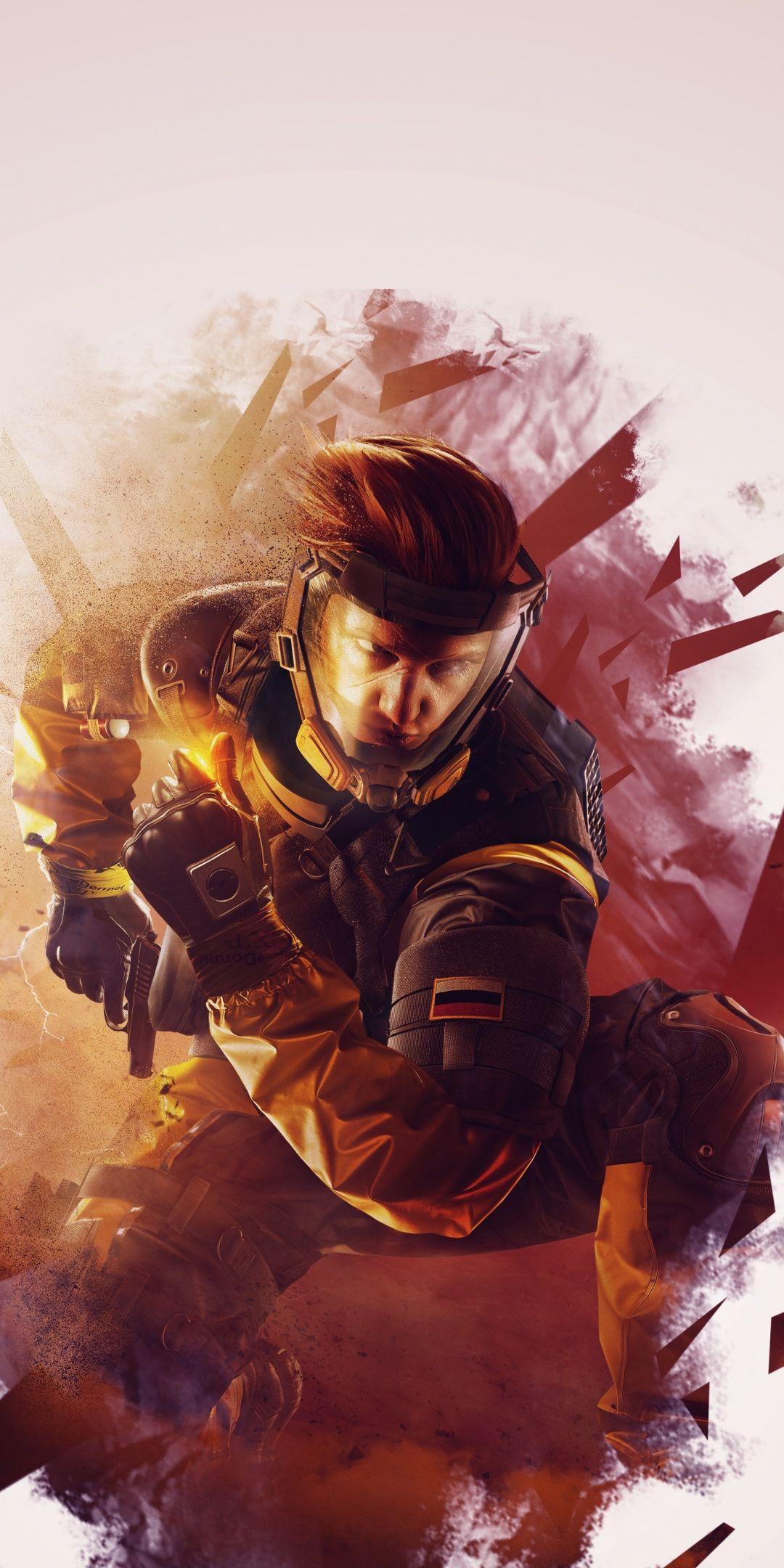 Rainbow 6 Tom Clancy S Rainbow Six Siege Game Art 1080x2160 Wallpaper Rainbow Six Siege Art Cool Wallpapers Rainbow Rainbow Wallpaper