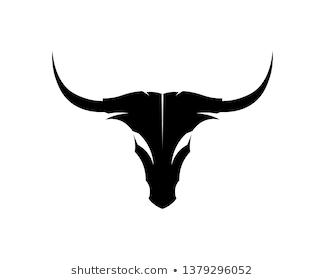 Vector Of Bull Head On White Background Wildlife Animal Easy Editable Layered Vector Illustration 293339 Taurus Bull Tattoos Camera Tattoo Taurus Tattoos