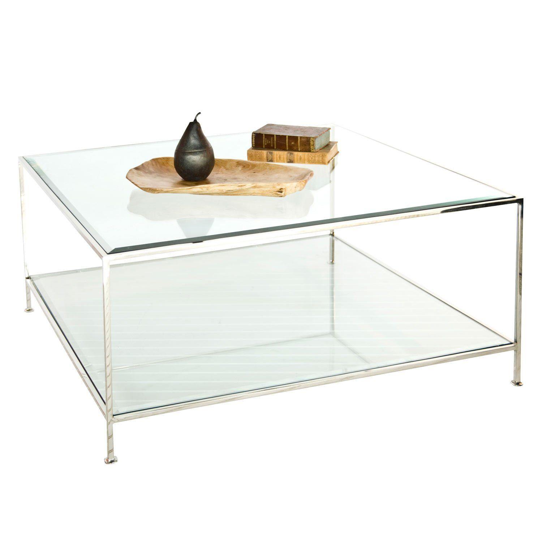 Worlds Away Quadro Coffee Table In 2021 Coffee Table Square Coffee Table Furniture Acrylic Coffee Table [ 1500 x 1500 Pixel ]