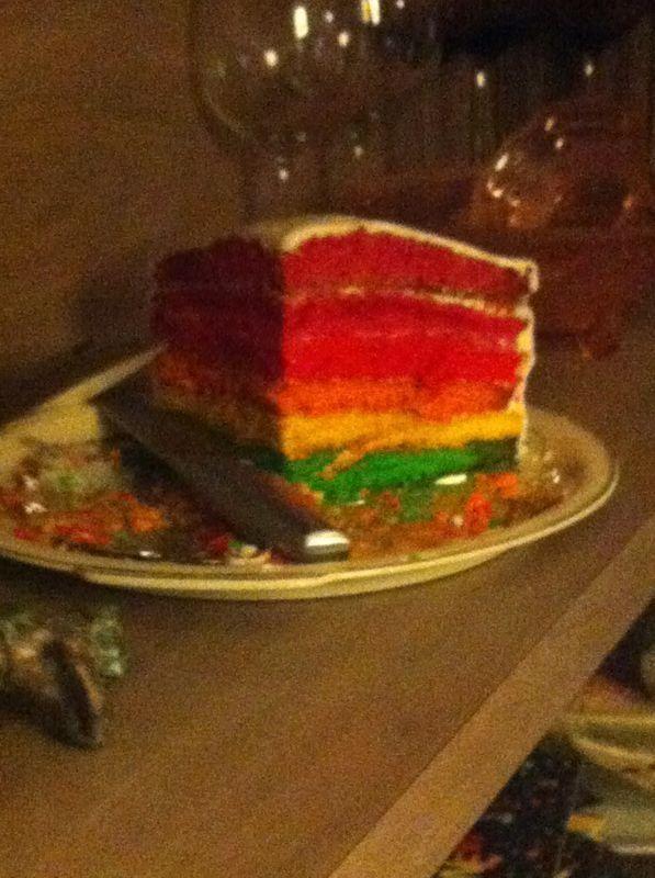 Homemade birthdaycake!