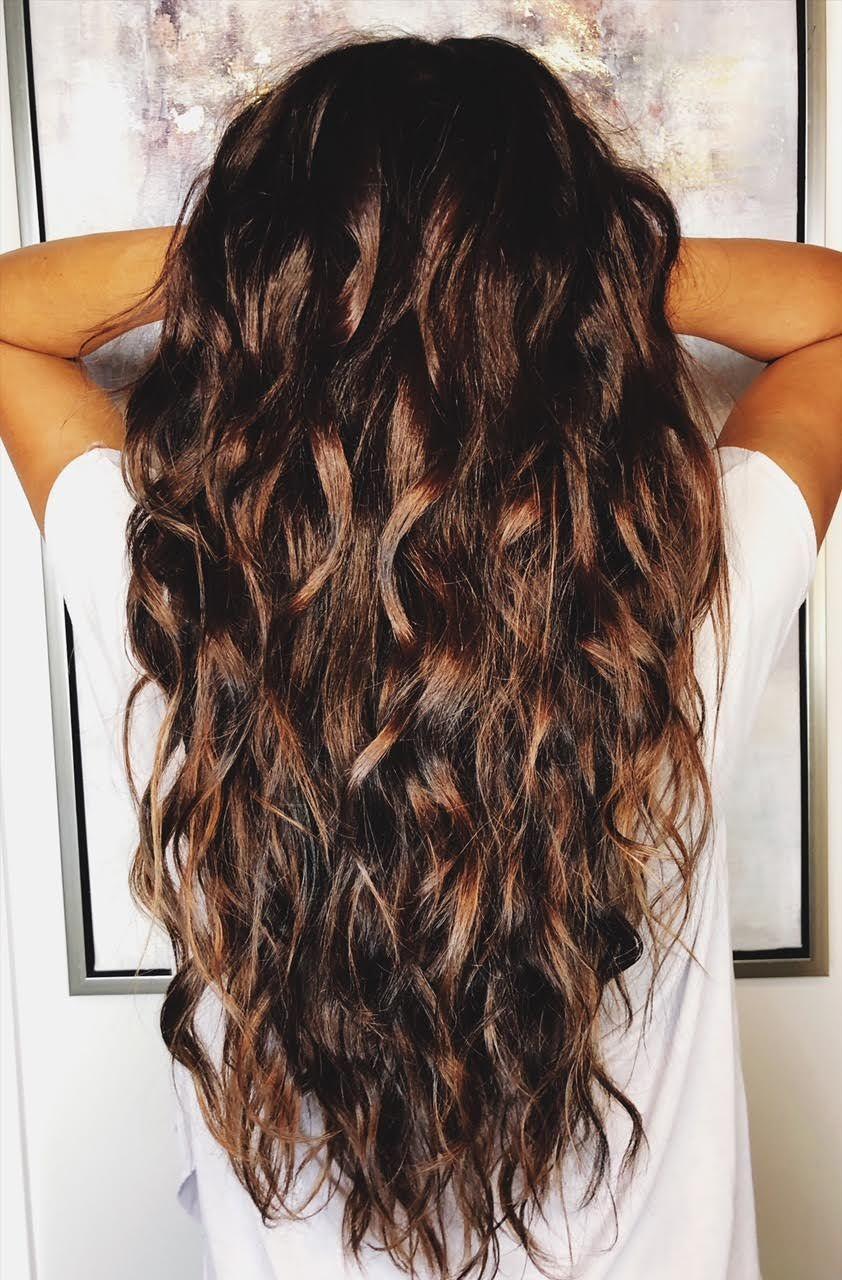 Mermaid Curl Tutorial Hair Mermaid Curls Longhair With