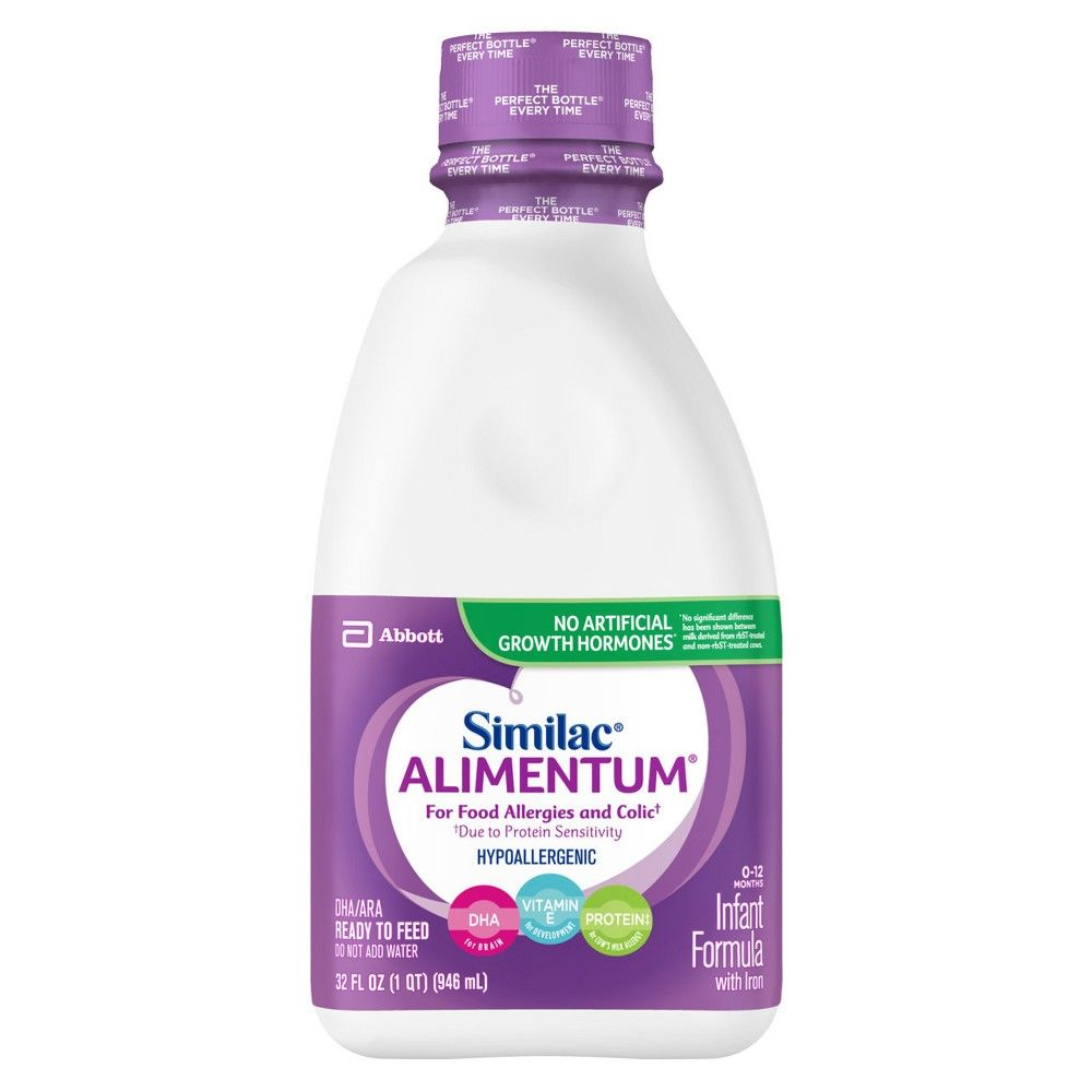 Similac Alimentum Hypoallergenic For Food Allergies And Colic