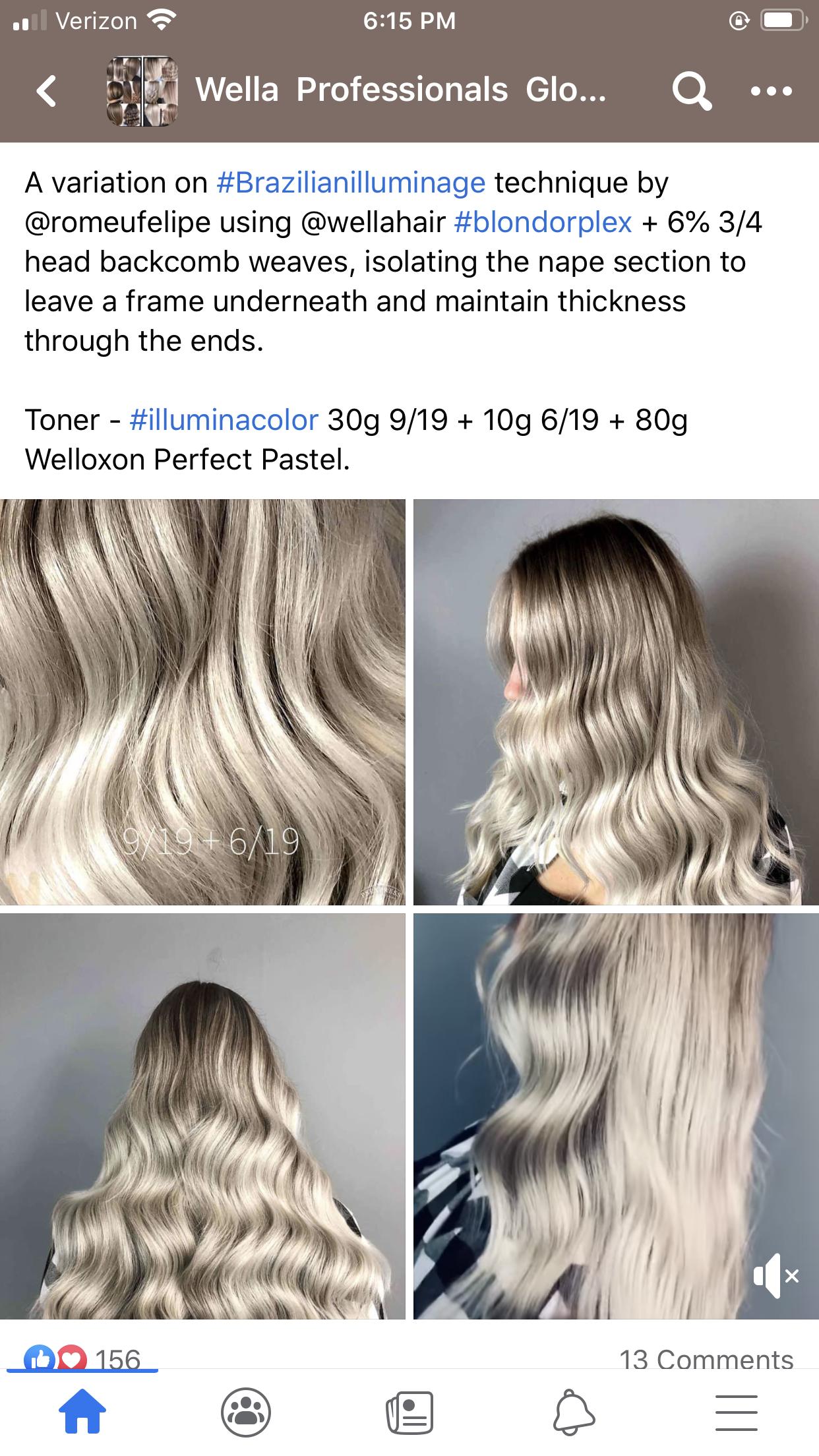 Pin By Lesha Lesha On Wella Wella Hair Color Hair Color Formulas Wella Hair