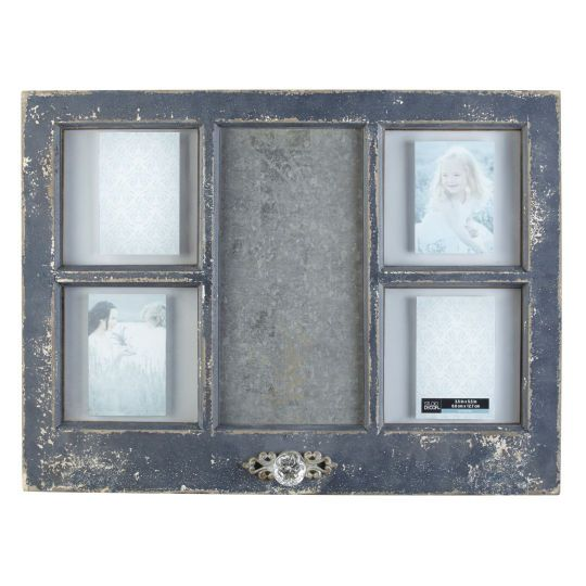 nicely distressed collage frame looks like a window that you picked up at - Window Collage Frame