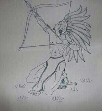 Azteca Bordado Mexicano Patrones Aztecas Dibujos Dibujos