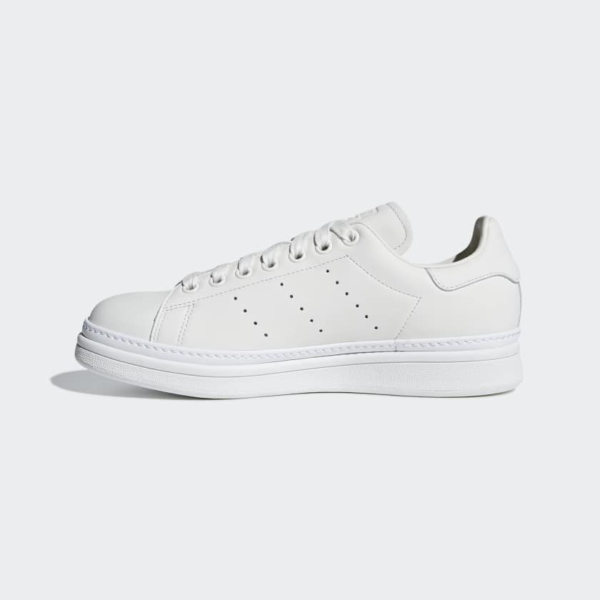 Stan Smith New Bold Shoes White AQ1087 | Bold shoes, Stan ...