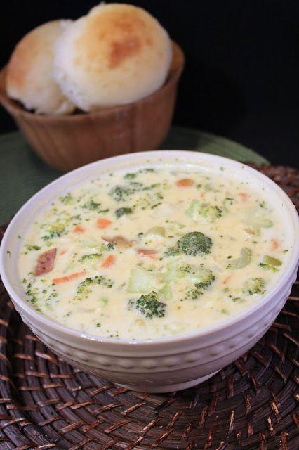 Deals to Meals: Creamy Broccoli Potato Soup {Mashed Potato Leftove...