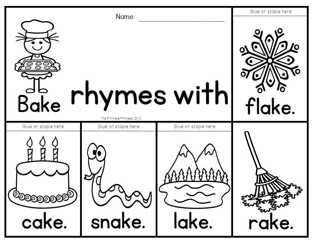 Rhyming Flip Books 45 Books To Practice Rhyming Words Word Families Rhyming Words Word Families Phonics Kindergarten [ 816 x 1056 Pixel ]